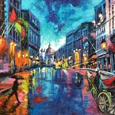 peinture « Magazin'art