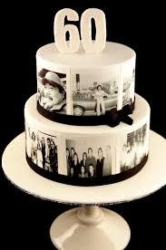 60th Birthday Cake Photo Cake Cake By Zelicious Cakesdecor