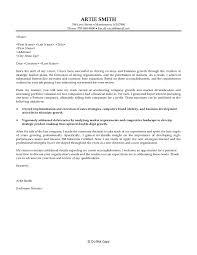 Cover Letter For Business Development Business Development Cover