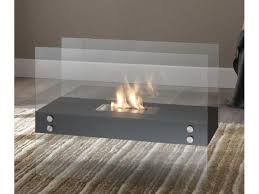 bio ethanol fireplace stones mod theremin double bedded burner 1 5 lt