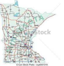 eps vectors of minnesota state interstate map minnesota state Mn Highway Map minnesota state interstate map csp6001319 mn highway map pdf