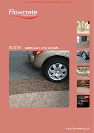 Flowcrete Color Chart Rustik Seamless Stone Carpets Www Flowcrete Co Uk