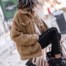 faux fur coat women khaki wine red army green fur coat femme long sleeve overcoat plus size flurry jackets for winter v1 uk 2019 from volontiers