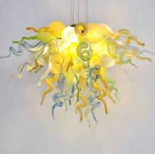 viz art glass california sunshine chandelier large