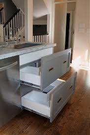 Under Kitchen Sink Cabinet Design Dump Drawers Under The Kitchen Sink