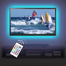 tv accent lighting. Tv Lighting Kit Accent/ambient Precut Usb Led Rgb Strip Lights Backlight With Remote For Tv,Pc,Home Theater - Buy Accent