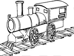 Choo Choo Train Coloring Page Free Download