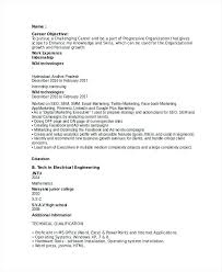 Marketing Resumes Entry Level Resume Objectives Objective For