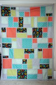 Big Block Quilt Patterns For Beginners Simple Jack's Blocks Quilt Pattern Vanilla Joy