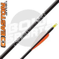 Easton Gamegetter Arrow Chart Easton Black Gamegetter Shafts