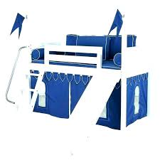 bunk bed with slide and desk. Lofted Bunk Bed With Slide And Desk