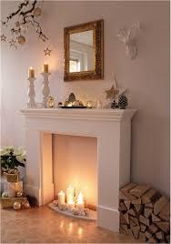 deko furniture. Mi Casita Furniture Minimalist Kaminumrandung Wunderschön Dekorieren Mit Kerzen Und Winter Deko T