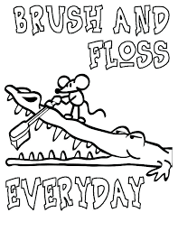 coloring pages dental health coloring sheets cleaning teeth colouring tooth page pages brushing color brush