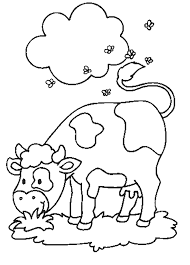 Small Picture Cow coloring pages in meadow ColoringStar