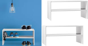 target room essentials 2 shelf horizontal stacking organizer possibly 3 14 reg 10 49 hip2save