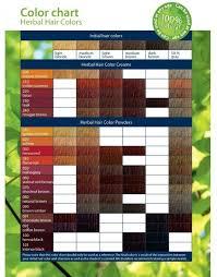 Color Shade Chart Logona Chemical Free Natural Hair Dye Powders