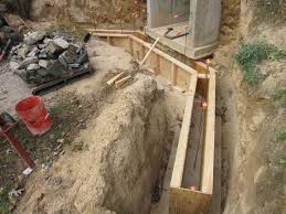 diy retaining wall steps concrete