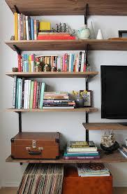 diy bookshelf plans diy wall shelves