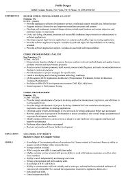 Cobol Programmer Resume Cobol Programmer Resume Samples Velvet Jobs 4