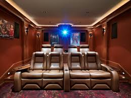 inexpensive home theater seating. Inexpensive Home Theater Seating Craftsman With Cove Lighting Red Walls