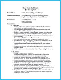 Jobh Description Template Lifeguard Resume Cover Letter For How Jd
