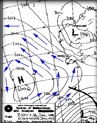 How To Read A Synoptic Chart Australia Reading Synoptic Charts Explained Archive Ausfish