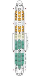 787 Dreamliner Seating Chart Seat Plan For The British Airways B787 British Airways