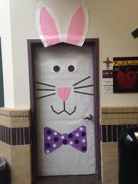 Valentine Door Decoration Ideas Easter Bunny Door Decoration In Kindergarten Spring Has Sprung