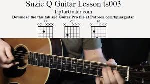 Suzie Q Guitar Lesson ts003