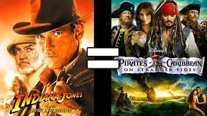 24 Reasons Indiana Jones 3 & Pirates of the Caribbean On Stranger Tides Are  The Same Movie - YouTube