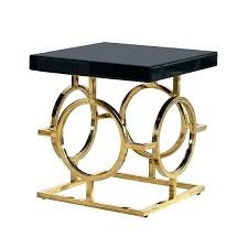 round metal bedside table gold side table gold round metal side table metal bedside tables