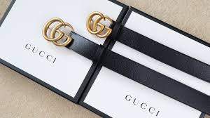 Fake Designer Belts Real Vs Replica Gucci How To Spot A Fake Gucci Belt