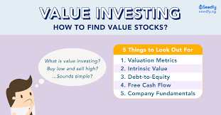 Value Investing 5 Things To Look Out For In A Company
