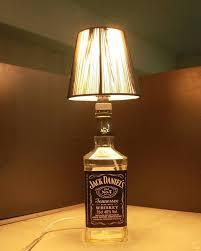 bottle lighting. LED Lampu Meja Jack Daniels Liquor Botol Dekorasi Pencahayaan Dengan Kain Warna Untuk Ruang Tamu Bottle Lighting O