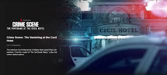 Netflix has set new docuseries crime scene: Netflix Releases Documentary Trailer On Elisa Lam S Mysterious Death Cgtn