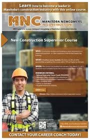 manitoba construction sector council blog online training for manitoba newcomers