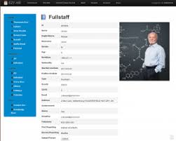 Employee Profile Sample Human Resource Management System Archives Ezy Hr