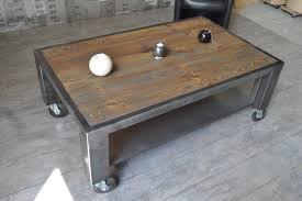 Fabriquer Une Table Basse Style Industriel Fabriquer Une Table