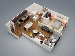 2 modern 1 bedroom