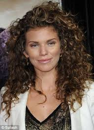 Hairstyles For Long Curly Hair 0 Awesome Embracing Her Wild Side AnnaLynne McCord Unleashes Her Natural