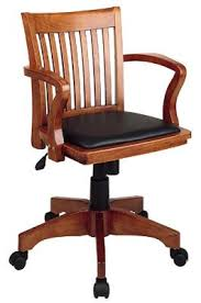 desk chairs wood. Office Star Wood Banker\u0027s Desk Chairs O