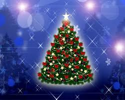 1024x768 Christmas Tree desktop PC ...