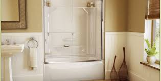 Tub And Shower  One Piece Another Diamond Option With More Shelf One Piece Fiberglass Tub Shower Combo