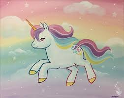 how to paint pastel unicorn all ages