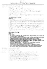 Collection Manager Resume Collection Manager Resume Samples Velvet Jobs 10