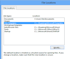 word microsoft templates why custom templates might not appear in word 2013 tim andersons