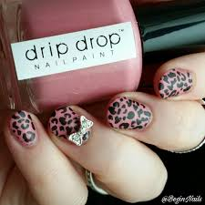 Guest Post by BeginNails: Pink Leopard Nail Art | Be Happy and Buy ...