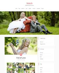 Wedding Website Template Stunning 48 Free WordPress Wedding Themes 20148 AThemes