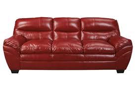 carlton bonded leather sofa from gardner white furniture