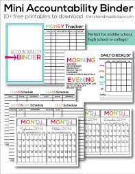 Student Daily Planner Reproducible Student Worksheet 35 Great Day Planner Printable